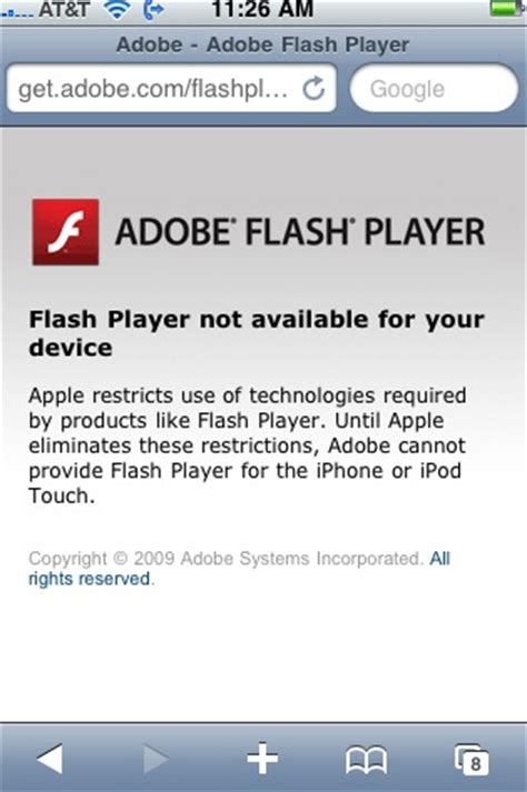flash player for iphone jeff the shpitz