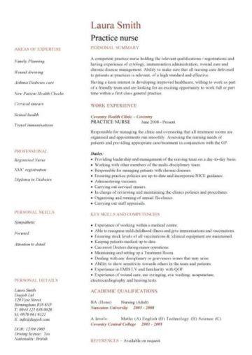 How To Write A Detailed Cv by Nursing Cv Template Resume Exles Sle