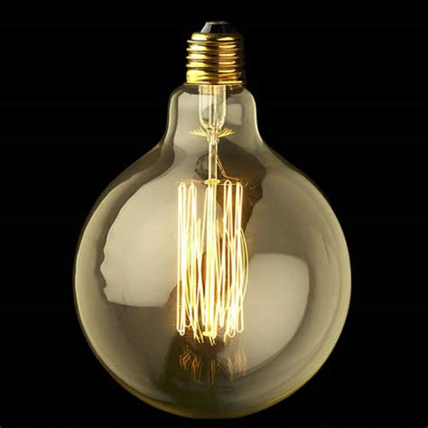 40w cool vintage filament light bulb to go with our cool