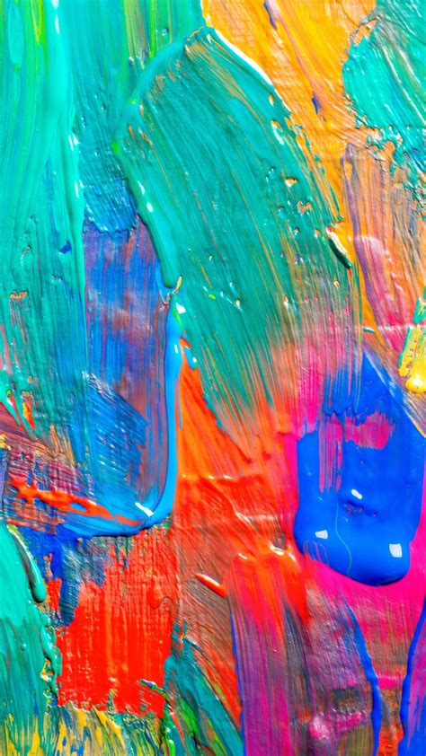 Paint Background 1080x1920 Colors Acrylic Paint Texture Texture Paint