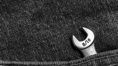 Tools Jeans Shiny Pocket Metal Computer Numbers
