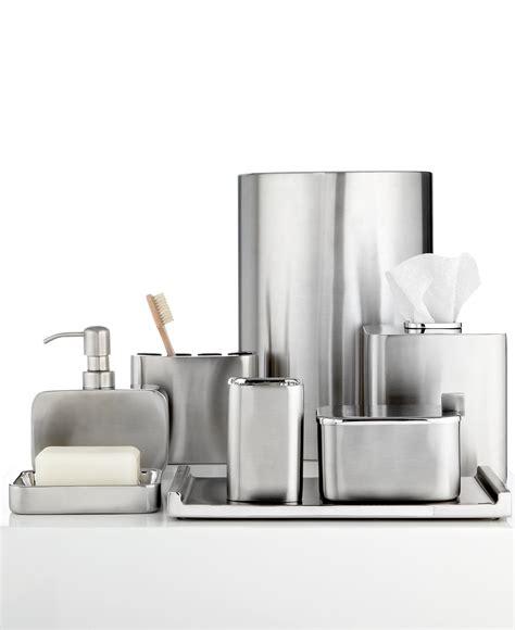 Closeout! Hotel Collection Hotel Modern Brushed Stainless