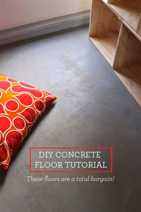 How Do You Install Carpet by Diy Concrete Floor This Bargain Version Is So Easy To Create