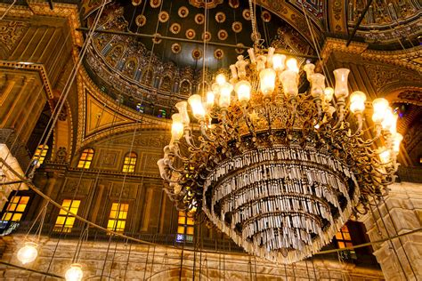 what is the meaning of opulent opulent interior of the alabaster mosque in cairo