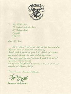 hogwarts acceptance letter movie version personalized With hogwarts acceptance letter