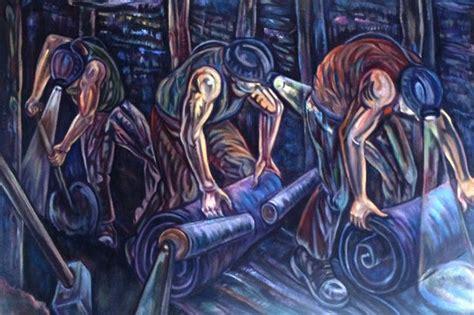 County Durham Pitman-turned-artist Recalls The Grim Life