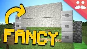 The Fanciest Piston Door In Minecraft