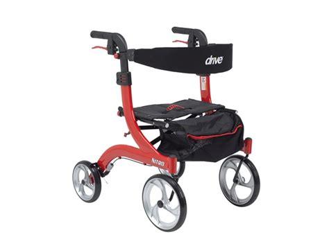 nitro walker rollator elderluxe hemi