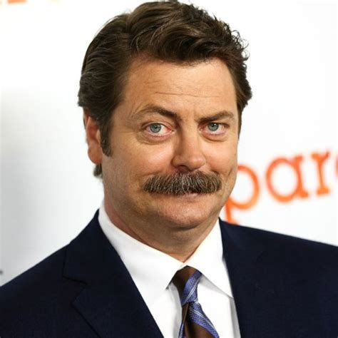 nick offerman popsugar entertainment
