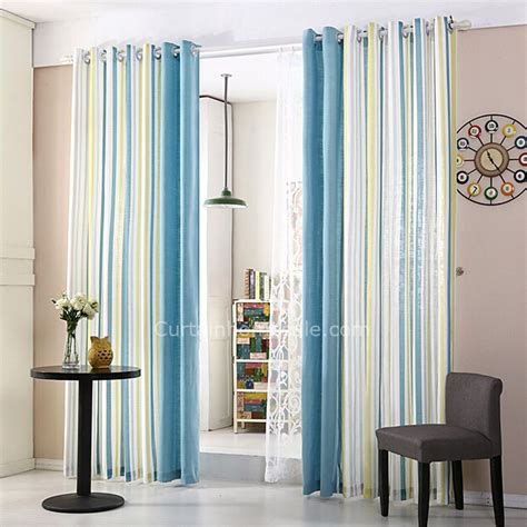 blue and white striped curtains blue and white striped curtains modern window curtains