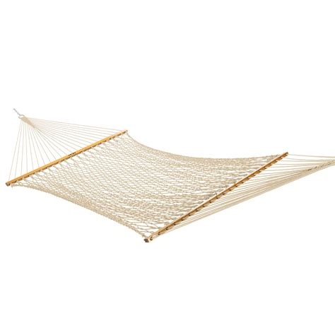 hammocks large original cotton rope hammock  metal stand  sale dfohome