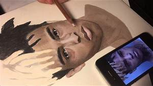 Rip Drawing Xxxtentacion   Timelapse Drawing