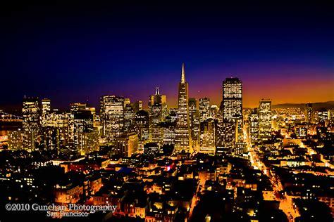 downtown san francisco night view athit tjhai flickr