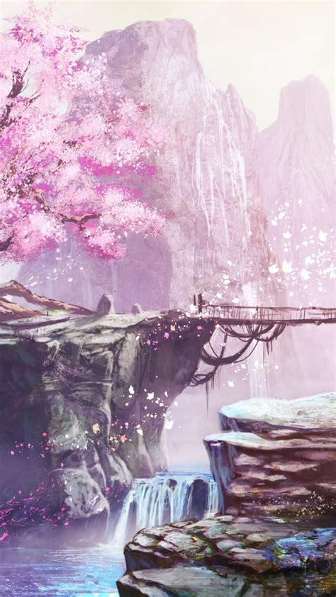 Anime Cherry Blossom Wallpaper - anime cherry blossom wallpaper 72 images