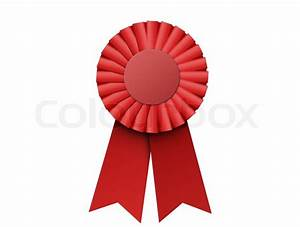 First place red ribbon, bitmap copy isolated | Stock Photo ...