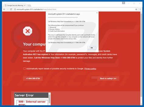 Como Desinstalar Fraude Call Windows Help Desk Immediately