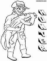 Hunter Coloring Colorings sketch template
