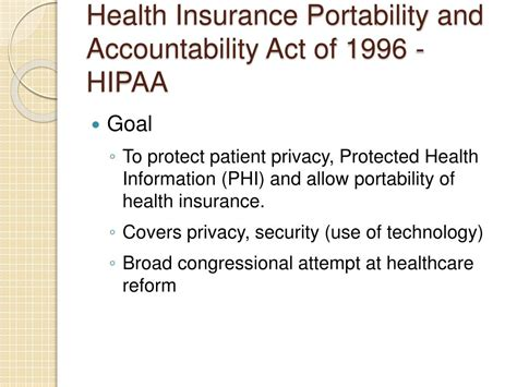 What is the health insurance portability and accountability act (hipaa)? PPT - BIOMEDICAL ETHICS PowerPoint Presentation - ID:1126715