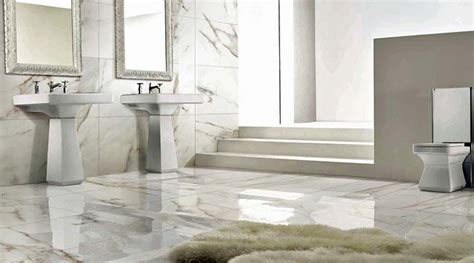 porcel thin white marble printed large format