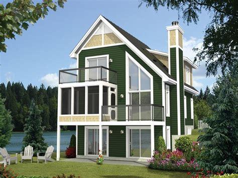 narrow lot home plan rear narrow lot house plans cottage plan lake house plans