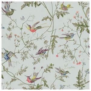 Papier Peint Fleuri Vintage : papier peint hummingbirds papier peint oiseaux papier peint et le fil ~ Melissatoandfro.com Idées de Décoration
