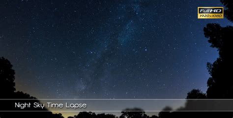 time lapse after effects template videohive night sky time lapse 6023467 free download