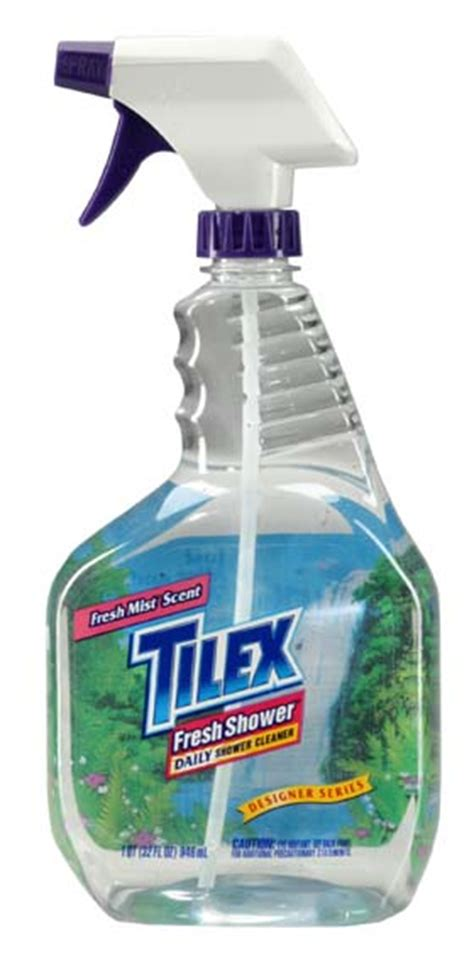 Tilex Bathroom Cleaner With by Clorox 01299 Tilex Fresh Shower Daily Shower Cleaner