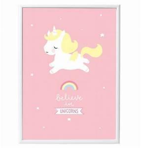 affiche murale bebe licorne commentseruiner With affiche chambre bébé avec fleur pour anniversaire 50 ans