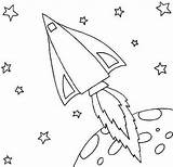 Rocket Coloring Ship Moon Orbit Pages Leaving Print Sheets Rockets Adult Christmas Colornimbus sketch template