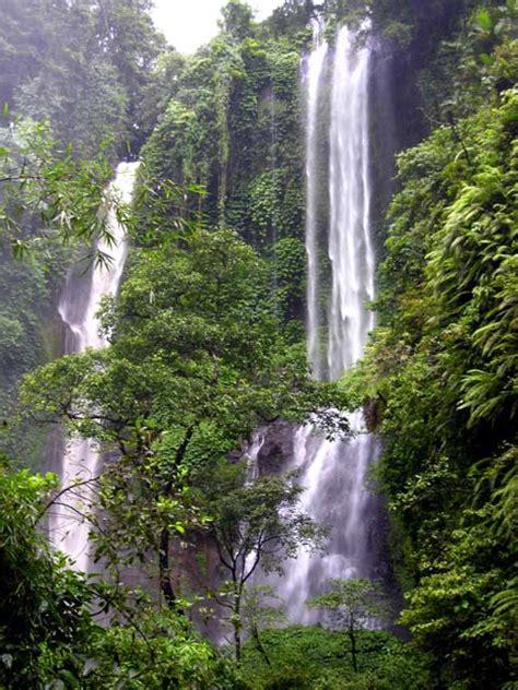 secret waterfall  bali discover bali indonesia photo