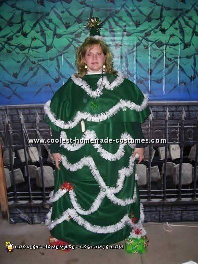 cool christmas costume idea an angel on a tree