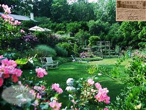 Country garden decorating ideas lovely photograph garden d for Designer gardens landscaping
