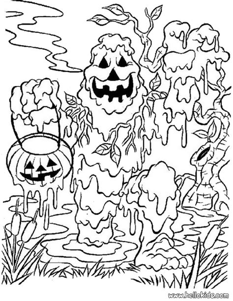 Monster Coloring Pages For Halloween Coloring Home