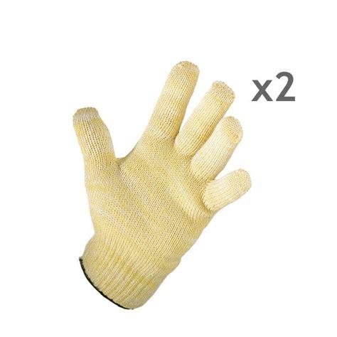 gant cuisine anti chaleur lot de 2 gants anti chaleur mathon tabliers torchons