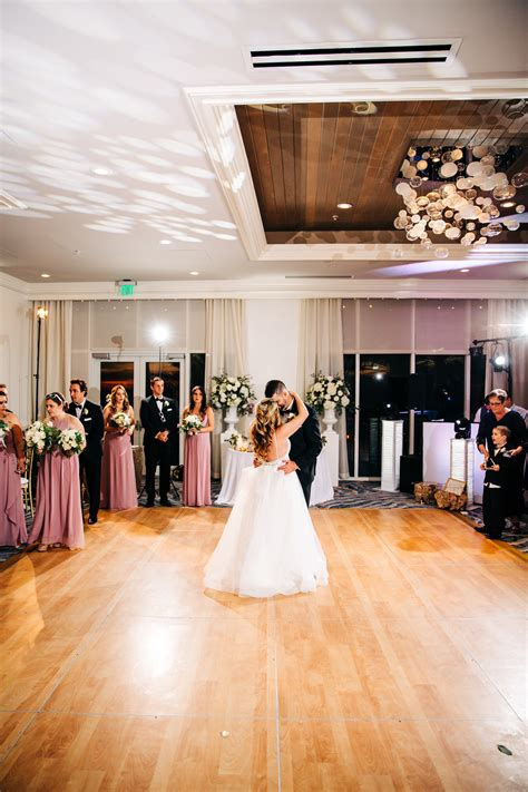 Tampa Bay Bride and Groom First Dance During Wedding