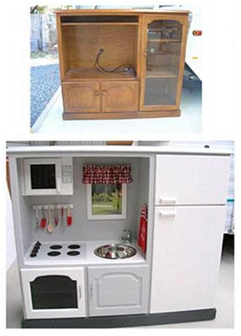 cuisine télé 10 idées pour recycler une vieille télé de la ruelle au