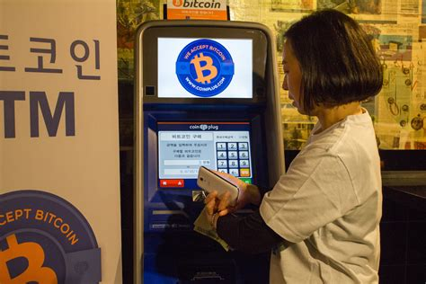 This machine is from coinsource and is located at 3663 s las vegas blvd #410, las vegas, nv 89109 inside of a restaurant call hamburger ketchup in a mall. South Korea Launches its First Two-Way Bitcoin ATM