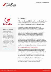 Transdev Australia share why their choice of DataCore and ...