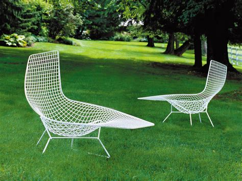 chaise bertoia knoll buy the knoll studio knoll bertoia asymmetric chaise at