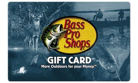 Bass Pro Shop Gift Card Balance