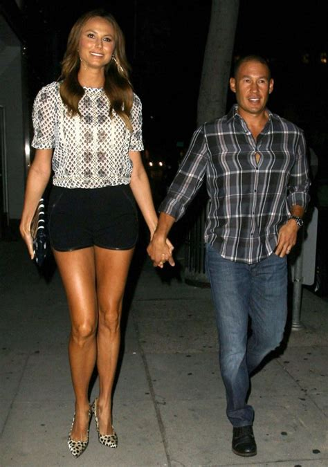 stacy keibler   dinner   chow  beverly hills