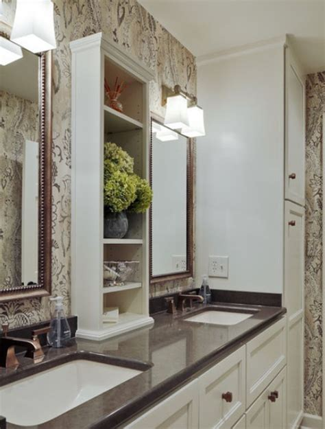 Small Space Bathroom Storage by Small Bathrooms With Clever Storage Spaces