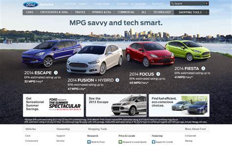 Car Designer Website by 20 Great Car Website Designs For Inspiration Creativecrunk