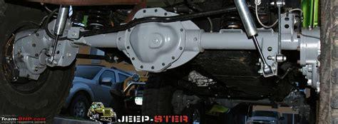 custom axles page  team bhp