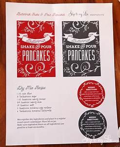 Shake And Pour Pancakes Recipe