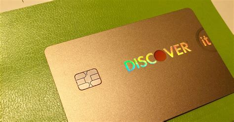 Discover Credit Card Designs Iridescent