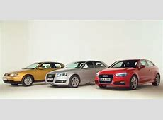 PHOTO AUDI A3 EVOLUTION DU DESIGN