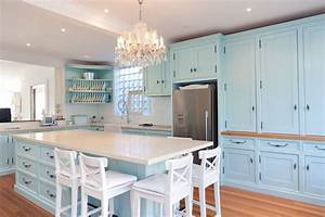 that39s it duck egg blue cabinets it is cute kitchens With kitchen colors with white cabinets with duck sticker