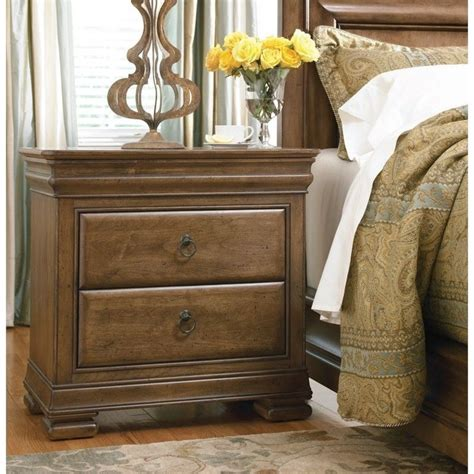 universal furniture  lou nightstand  cognac