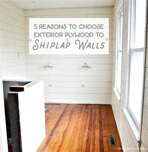 Using Shiplap For Interior Walls by Shiplap Walls 5 Reasons To Use Exterior Cdx Plywood